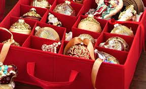 ornament storage boxes christmas on sale plastic box with dividers . Ornament Storage Boxes Christmas On Sale