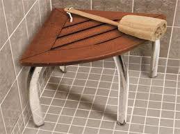 corner shower stool lovely bathroom teak teak shower bench with shelf small teak