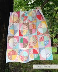 Circle Quilt Patterns Inspiration Crazy Mom Quilts Still Running In Circles