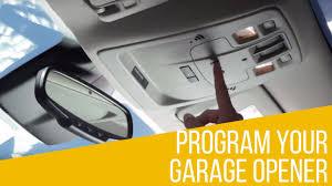 how to reset garage door openerHow to Program Garage Opener in your Chevrolet  YouTube
