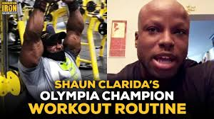 olympia chion workout routine