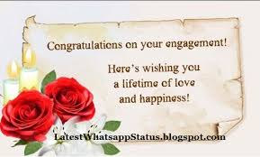 HEART TOUCHING ENGAGEMENT WISHES - WHATSAPP ENGAGEMENT QUOTES ...