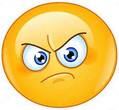 annoyed face Vector annoyed emoticon stock yayayoyo jpg - Clipartix