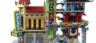 Is 70620 NINJAGO CITY a LEGO modular building?