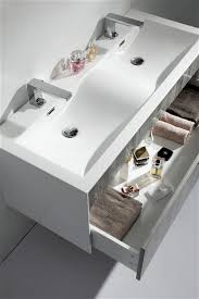 wall mount double sink. Fitto Ash Gray Wall Mount Modern Bathroom Vanity Double Sink And