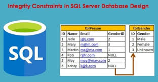 How To Use Integrity Constraints In Sql Server Database