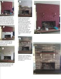 s to clean brick fireplace refinishing