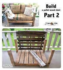 make pallet furniture. A Cool Pallet Wood Chair Anyone Can Make In Couple Of Build . Furniture Easy To Ideas Simple