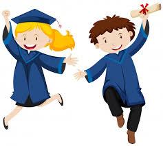 Výsledek obrázku pro absolvent dítě ilustrace