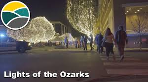 Fayetteville Lighting Of The Square Celebrate Lights Of The Ozarks At Walton Arts Center