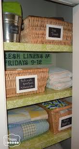 organized linen closet at thehappyhousie 2 organized linen closet at thehappyhousie