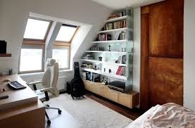 bookshelves office. perfect bookshelves cool small home office decor ideas with custom floating bookshelves for  apartment inside