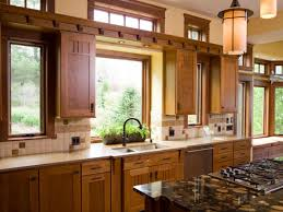 Large Kitchen Window Treatment Elegant Window Treatments For Modern Kitchen With Diy Hanging