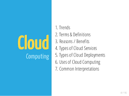 Cloud Computing Examples Cloud Computing Overview And Examples