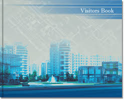 Office Guest Book Visitor Book 2020 Office Stationeries Custom Stationery Products