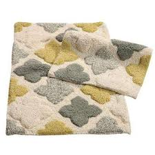 alloy moroccan tiles willow 21 in x 34 in 2 piece bath rug