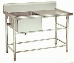stainless steel kitchen table. All Stainless Steel Kitchen Table Sink-KBTBD9065