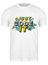 Футболка классическая JS code #2485505 от Trish по цене 890 ...