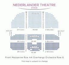 Pretty Woman Seating Chart Pretty Woman The Musical
