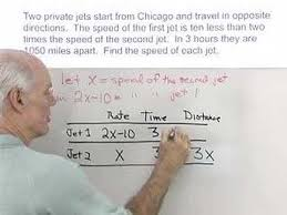 algebra help distance rate and time