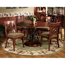 round rugs for under kitchen table the nice half gallery also area alluring rug