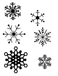 Snowflakes Template Pdf Pin On Christmas