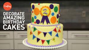 Amazing Birthday Cakes 3 Easy Steps Fondant Cake Decorating