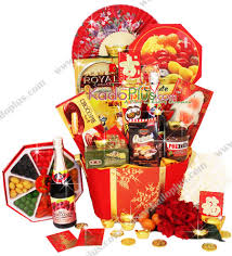 Small Picture lunar new year gift basket Archives Toko Bunga Online Florist