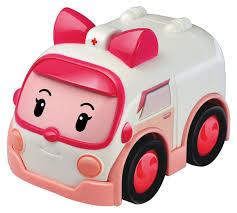 <b>Robocar Poli Машинка</b> инерционная <b>Эмбер</b> — купить в интернет ...