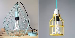 caged lighting. 7 amazing ways to style an industrial cage pendant light caged lighting w