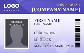 Company Id Badge Template 14 Free Id Badge Templates Word Excel Pdf Templates