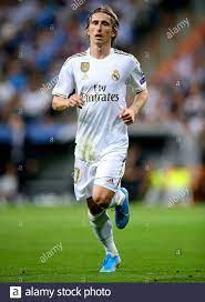 Real Madrid's Luka Modric in action Stock Photo - Alamy