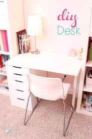 ikea home office images girl room design. Small Desk :: DIY To Fit Into A IKEA Expedit Custom Built Shelving Unit. Perfect Idea For Child\u0027s Room, Entertainment Center, Or Home Office. Ikea Office Images Girl Room Design