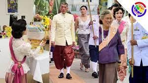 ย้อนชมพระราชินี ในงานอุ่นไอรัก และเจ้าคุณพระสินีนาฏกับทรงผมลอนเปียกย้อนยุคไทยโบราณ  - YouTube