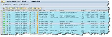 Invoice Tracking Center Automated Invoice Processing