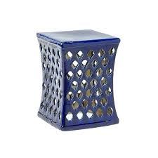 blue garden stool. Garden Stool Walmart Cobalt Blue Stools Navy With Regard To Plans 2 . L