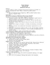 Entry Level Environmental Engineering Resume(5). Patrick Belsheim  (858)-449-2985 pbelsheim@yahoo.com Objective To ...