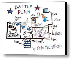 home alone poster battle plan. Beautiful Alone Framed Home Alone Kevins Battle Plan Prop Poster 85 X 11 Print Throughout 0