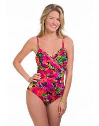Penbrooke Swimwear Size Chart Style Sense Underwire Surplice One Piece