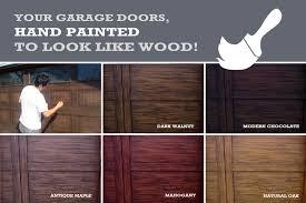 painting garage doorServices  UnReal Garage Doors
