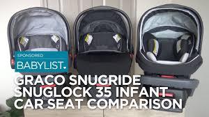 Graco Snugride Snuglock 35 Infant Car Seat Comparison 35 Vs 35 Xt Vs 35 Elite