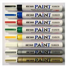 china angelus leather paint marker for metal china paint marker paint permanent marker