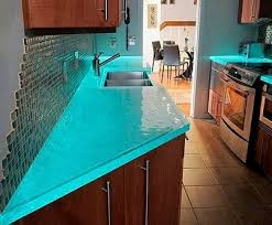 fantastisch recycled kitchen countertops the 25 best glass ideas on beach with