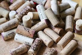 gather wine corks to make a trivet