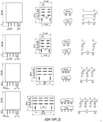 control relay wiring diagram control wiring diagrams reactive power control relay jqx 13f general purpose relay description outline dimensions and wiring diagram