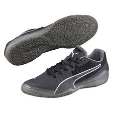 puma indoor soccer shoes for men. puma invicto fresh indoor soccer shoes (black/white/steel gray) for men e