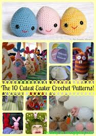 Cute Crochet Patterns Mesmerizing Designer Cute Easy Crochet Patterns The 48 Cutest Easter Crochet