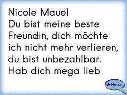 Nicole Mauel Du Bist Meine Beste Freundin Dich Möchte Ich Nicht