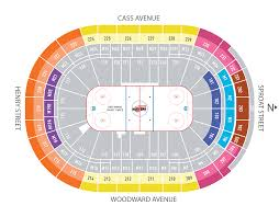 Little Caesars Arena Seating Chart View Little Caesars Arena Section Little Caesars Arena Pistons