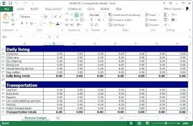 Best Excel Budget Template Free Personal Planner For
